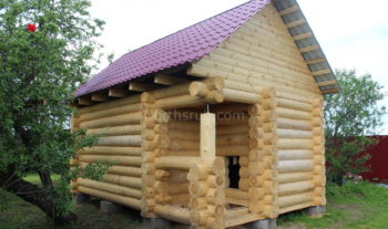 Баня 6х4 для Натальи, село Балахонки