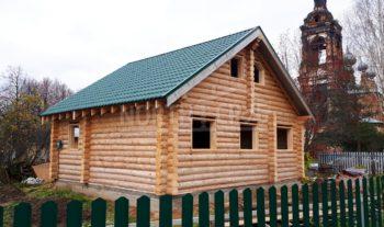 Сруб дома с мансардным этажом, Костромская область