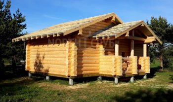 Рубленная баня 10*5 м, Владимирская область